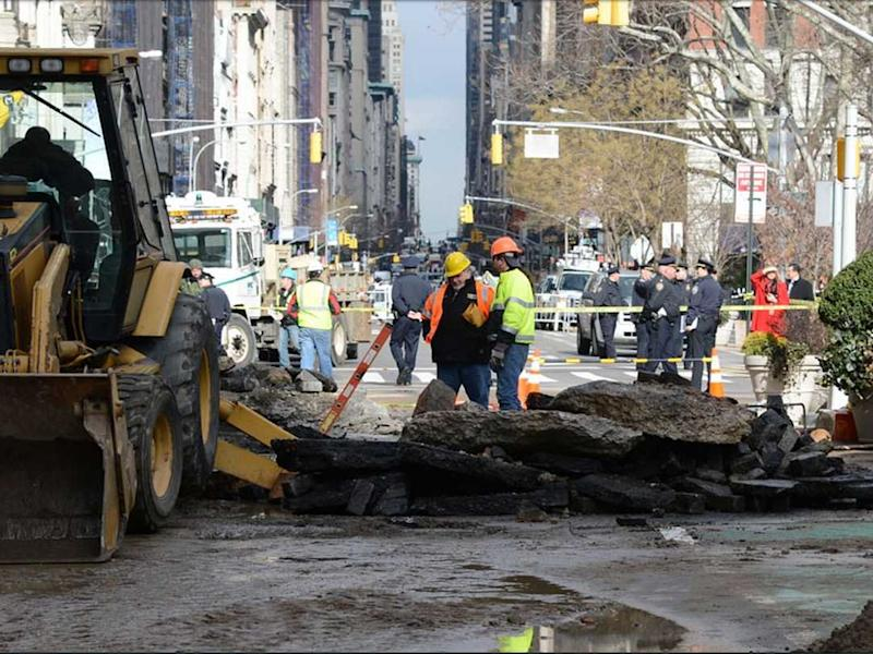 Water main break NYC