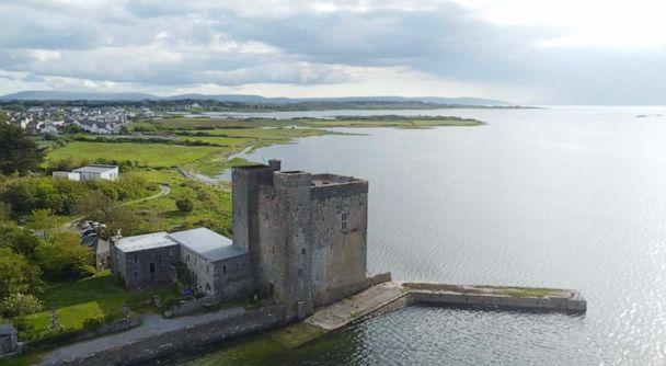 PHOTO: Oranmore Castle on the shore at the edge of the town in County Galway on Ireland's west Coast. (Patrick Reevell/ABC News)