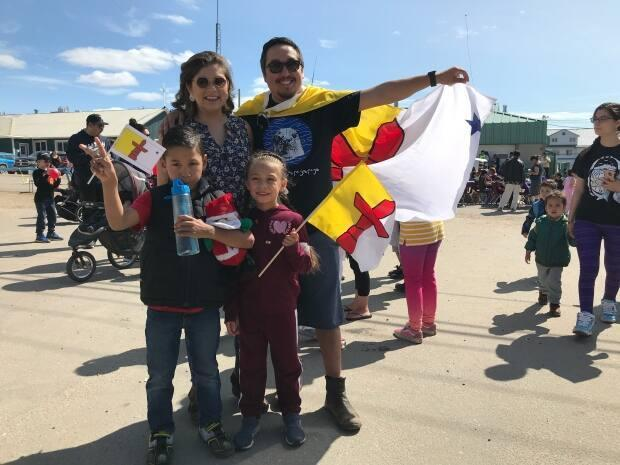 A file photo of Nunavut Day celebrations in Iqaluit in 2019. (Sara Frizzell/CBC - image credit)