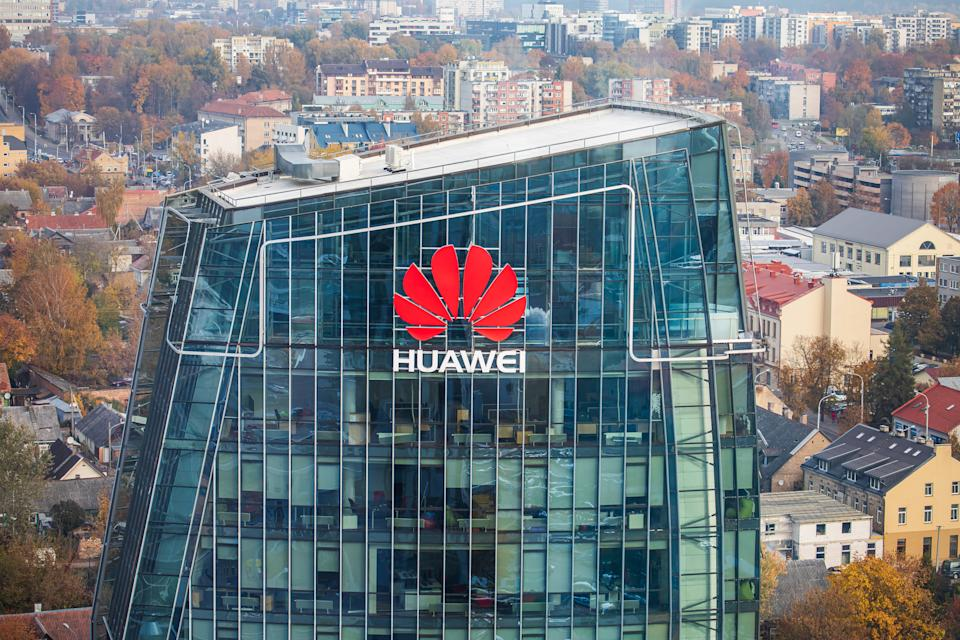 US officials are concerned Huawei's involvement in 5G could allow the Chinese government to spy on sensitive communications. Photo: Getty Images