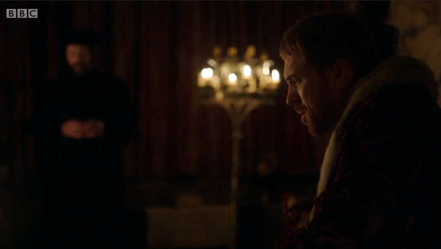 Wolf Hall was also criticised for its dark lighting