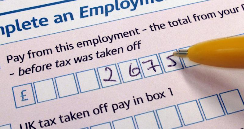 Self-assessment tax return form hmrc