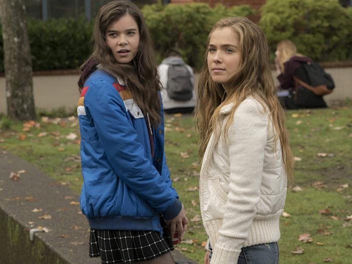 """Hailee Steinfeld and Haley Lu Richardson star in """"The Edge of Seventeen."""""""