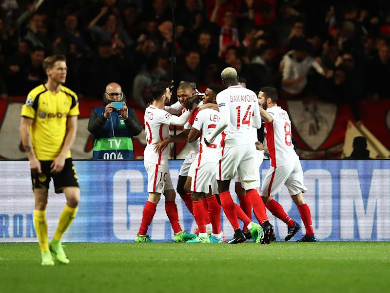 Kylian Mbappe scored after just three minutes to put Monaco ahead: Getty
