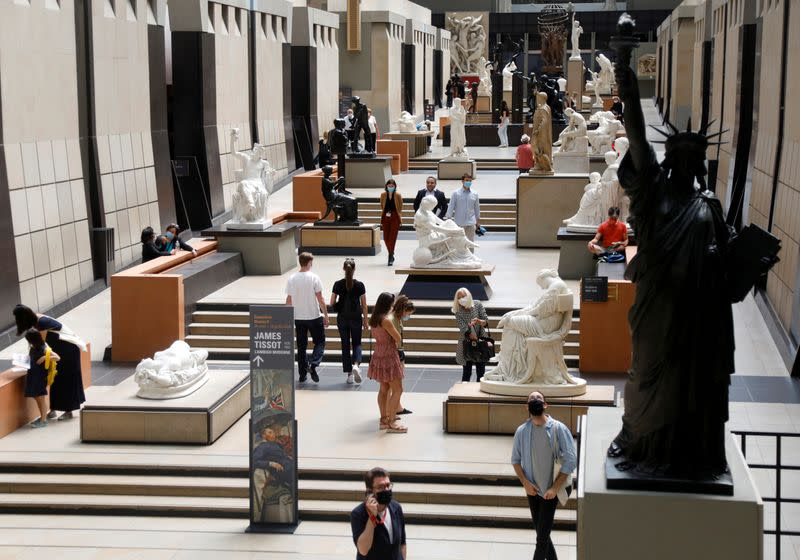 Paris's Orsay museum reopens to smaller crowds with eye on finances