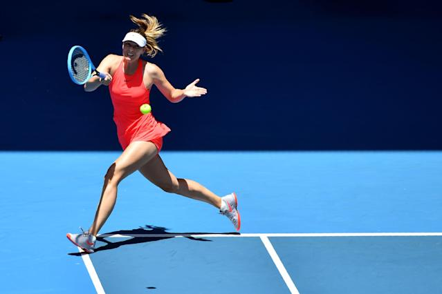Loses her only two matches of the season, including in the first round of the Australian Open, 6-3, 6-4 against Donna Vekic. Her fourth consecutive Grand Slam loss, the longest such streak of Sharapova's career.