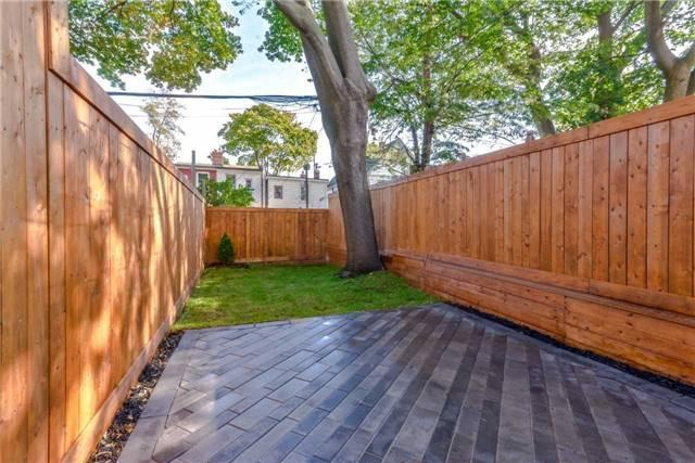 <p><span>333 Highfield Rd., Toronto, Ont.</span> <br> The backyard is fully fenced.<br> (Photo: Zoocasa) </p>