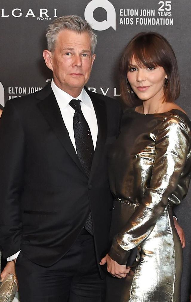 David Foster and Katharine McPhee (Photo: Getty Images)