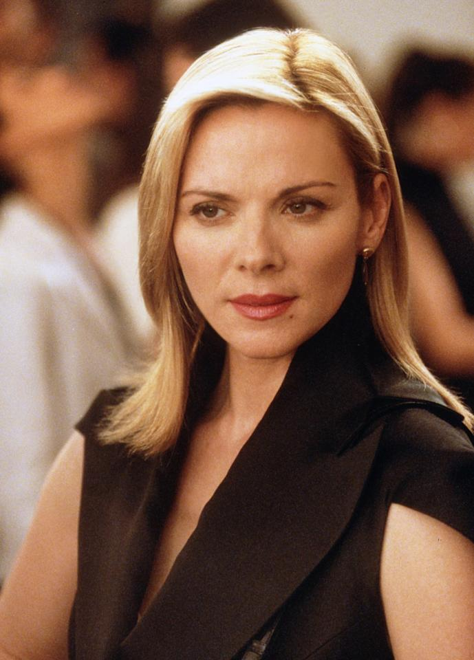 "<b>Kim Cattrall</b> as Samantha Jones, ""Sex And The City"" (1998-2004)<br><br>Outstanding Supporting Actress in a Comedy Series<br><br>0 wins, 5 consecutive nominations (1999-2004)<br>"