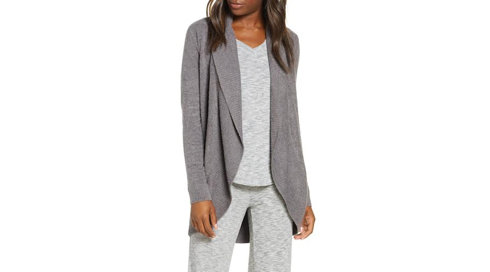 Best gifts for grandma: Barefoot Dreams CozyChic Lite Circle Cardigan.