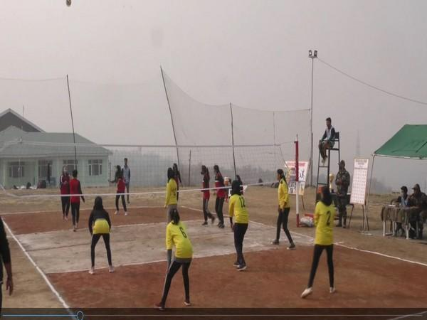 The tournament was organised under the aegis of Haiderbeg Sector Headquarters wherein four energetic teams of six districts participated. [Photo/ANI]