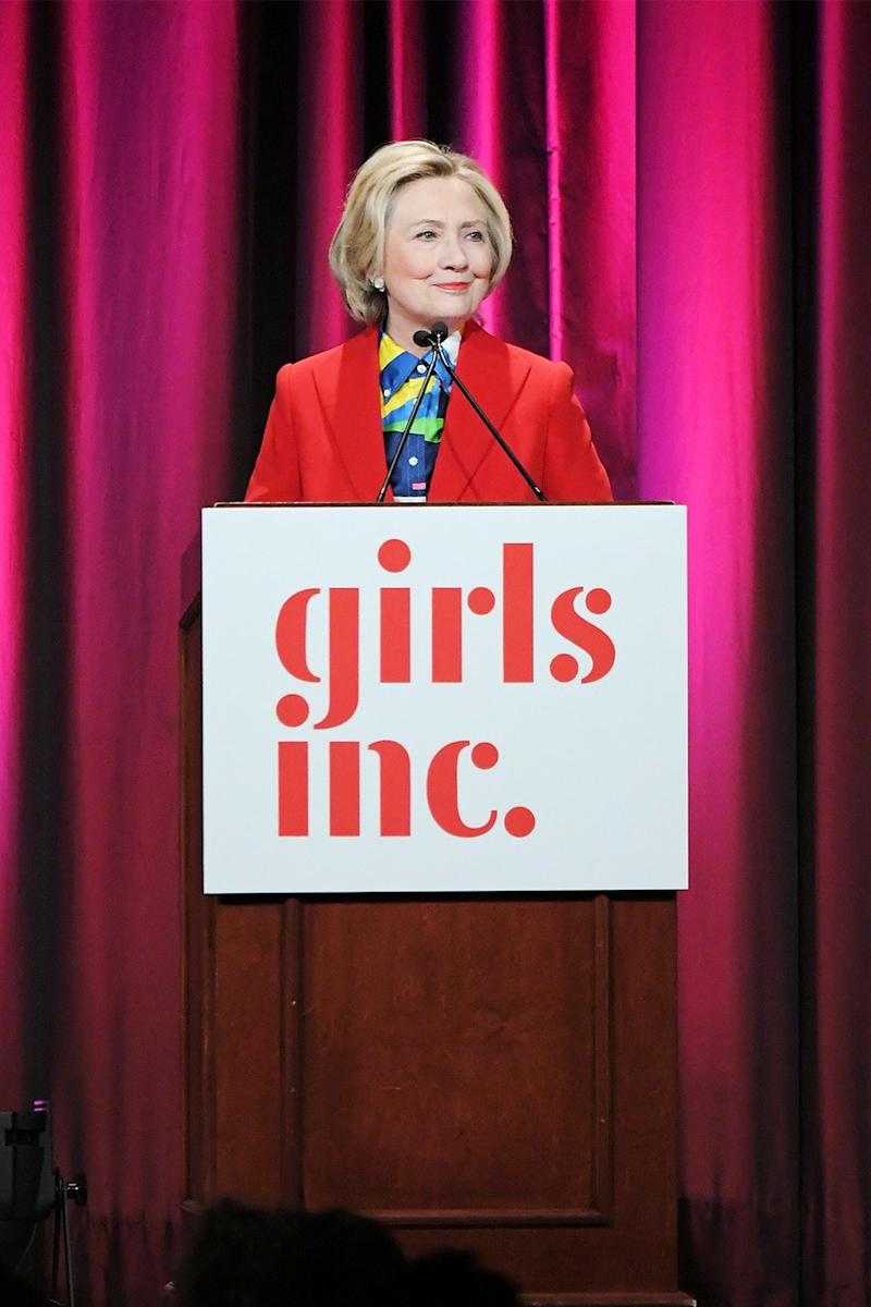 Hillary Clinton Sent an Important Message with Her Latest Pantsuit
