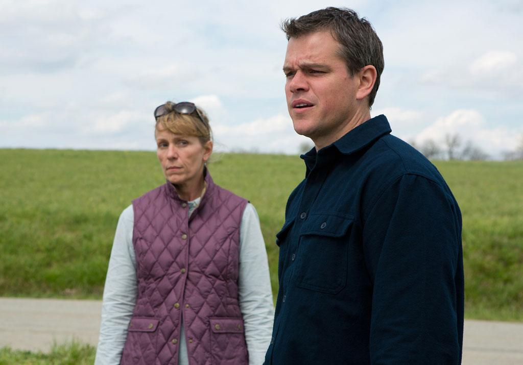 "Matt Damon and Frances McDormand in Focus Features' ""Promised Land"" - 2012"