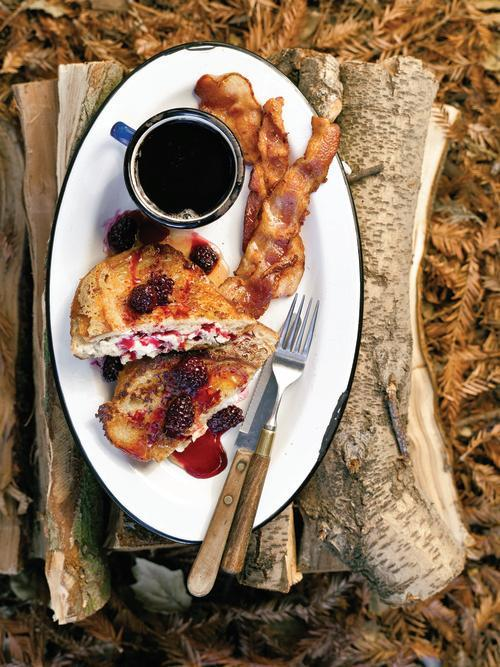 This french toast was made over a campfire believe it or not ccuart Image collections