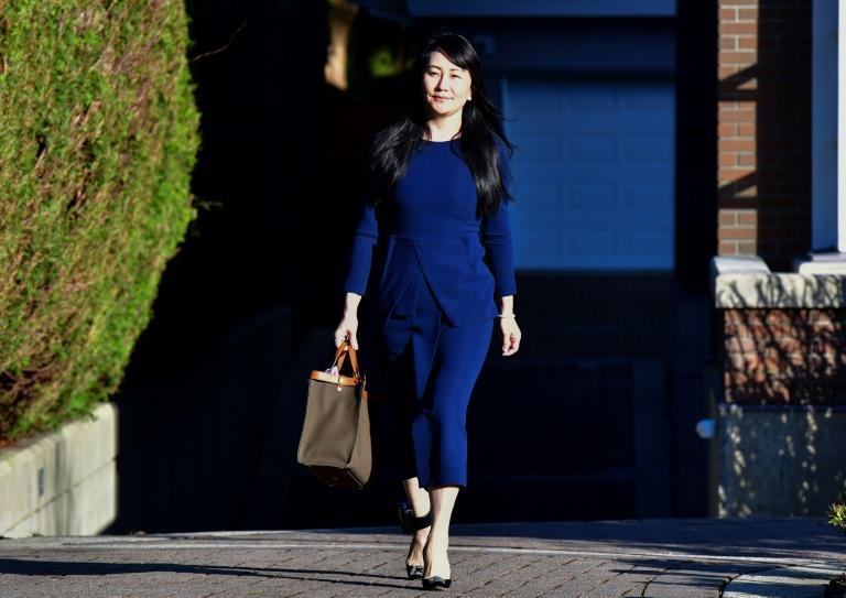 Huawei chief financial officer, seen leaving her Vancouver home to attend British Columbia Supreme Court in Vancouver this week, is fighting extradition to the United States