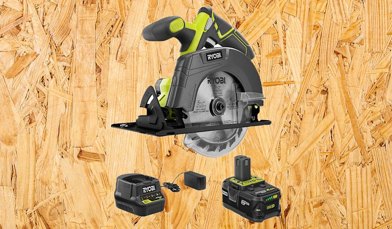 Snag $128 off this top-rated circular saw. (Photo: Home Depot)