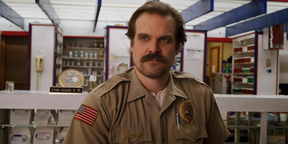 David Harbour in his final (?) performance as Jim Hopper in 'Stranger Things' (Photo: Netflix)