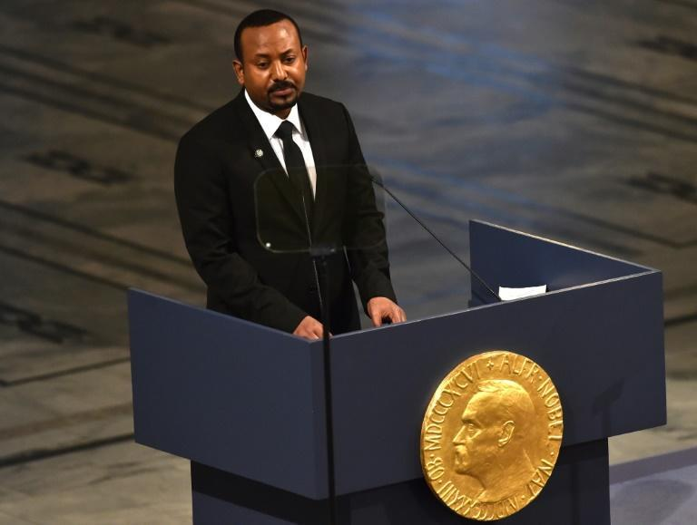 Prime Minister Abiy Ahmed won the 2019 Nobel Peace Prize for forging detente with Ethiopia's long-standing rival, Eritrea