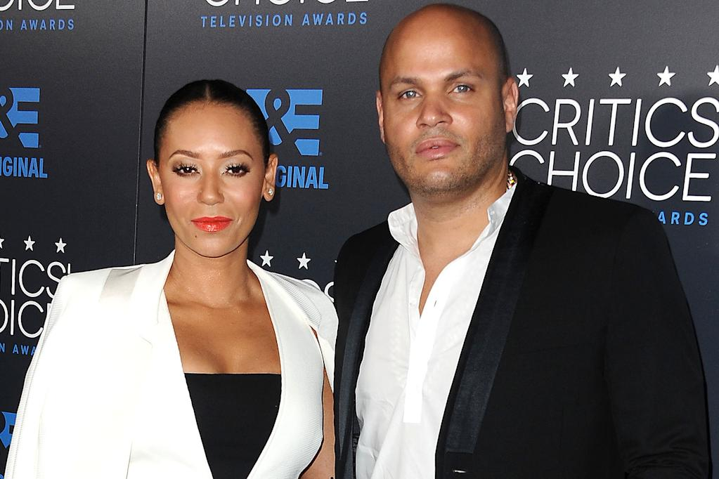 Mel B and Ex-husband Stephen Belafonte