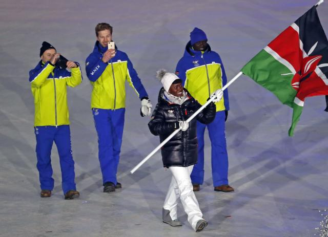 <p>Kenya didn't give viewers much to get excited about for the opening ceremony, rocking a plain blue and yellow combo that didn't have much, if any, flair. </p>