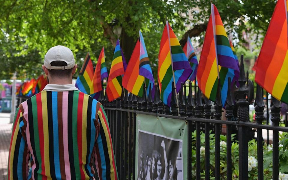 Stonewall National Monument - Angela Weiss/AFP via Getty Images