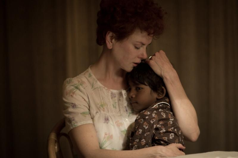 """In this image released by The Weinstein Company, Nicole Kidman and Sunny Pawar appear in a scene from """"Lion."""" (Mark Rogers/The Weinstein Company via AP)"""
