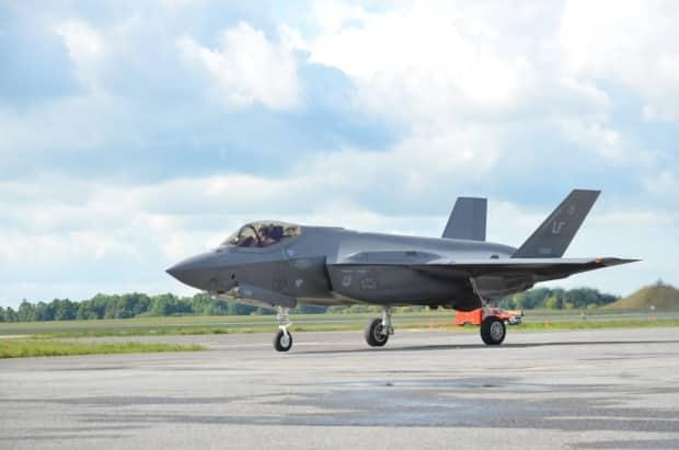 A US Air Force F-35A is one-of-three competitors in the bid to replace Canada's CF-18s.