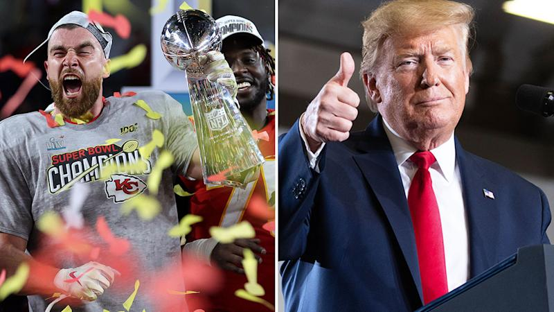 US president Donald Trump mistakenly tweeted that the Chiefs represented the state of Kansas.