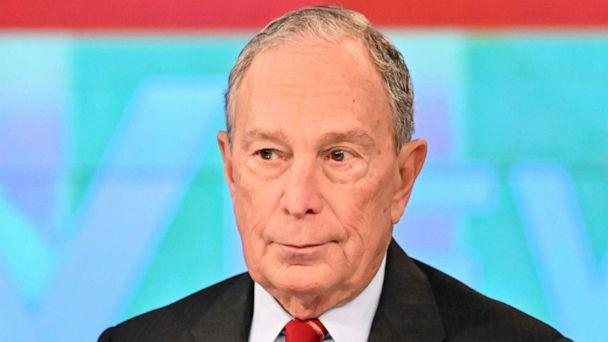 PHOTO: Michael Bloomberg appear on 'The View,' Jan. 15, 2020. (Jeff Neira/ABC)
