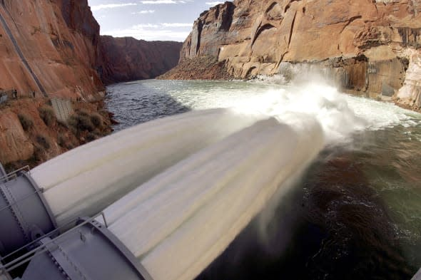 Grand Canyon Flooding
