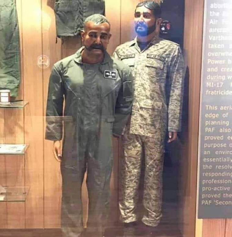 Pakistan Air Force displays Abhinandan's mannequin in its museum
