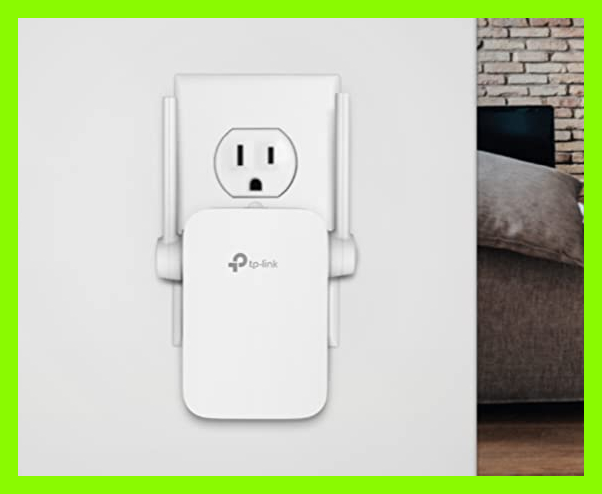 This TP-Link N300 Wi-Fi Extender is on sale for $18, or $12 off. (Photo: Amazon)