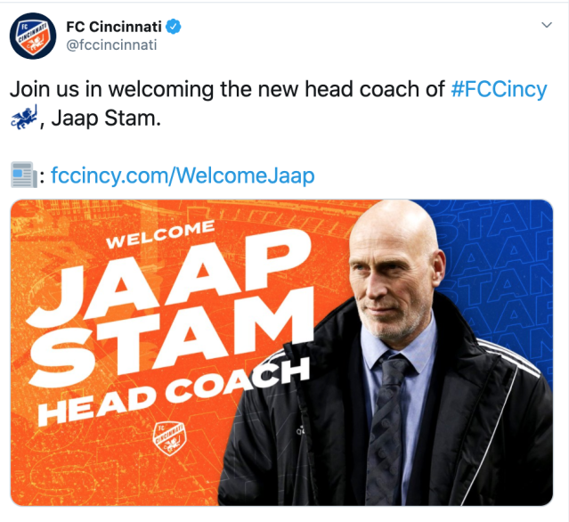This man is not Jaap Stam and this tweet was deleted.