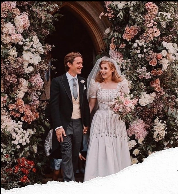 New Princess Beatrice Wedding Photo Gives Glimpse Of Stepson