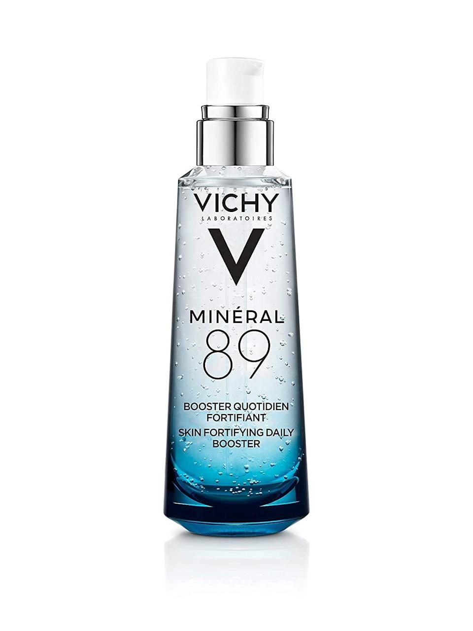 <p><span>Vichy Mineral 89 Hydrating Hyaluronic Acid Serum</span> ($30, originally $40)</p>
