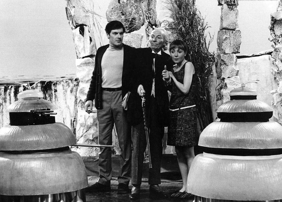 """<p>Only episode 3 remains of this four-part story about two warring alien races (from <em>Doctor Who</em>'s third season in 1965). The one surviving episode, plus a reconstruction of the other three (pieced together from the surviving audio, existing film clips and photographs) was included as bonus material on the DVD release of another story, '<a href=""""https://www.amazon.co.uk/Doctor-Who-Aztecs-Special-DVD/dp/B00AREPA1I/"""" rel=""""nofollow noopener"""" target=""""_blank"""" data-ylk=""""slk:The Aztecs"""" class=""""link rapid-noclick-resp"""">The Aztecs</a>', in 2013.</p>"""
