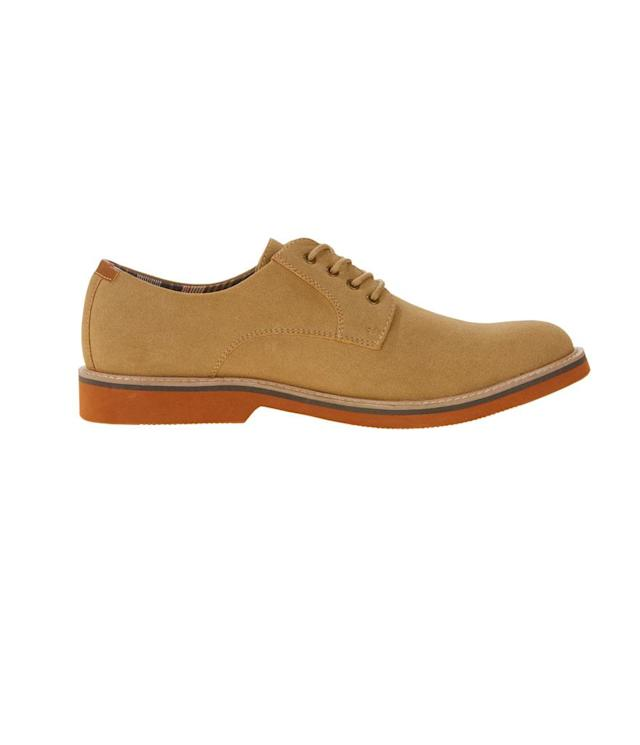 "<p>Men's Oxford shoe, $26, <a href=""https://www.walmart.com/ip/George-Men-s-Oxford-Shoe/716063002"" rel=""nofollow noopener"" target=""_blank"" data-ylk=""slk:walmart.com"" class=""link rapid-noclick-resp"">walmart.com</a>. (Photo: Courtesy of Walmart) </p>"