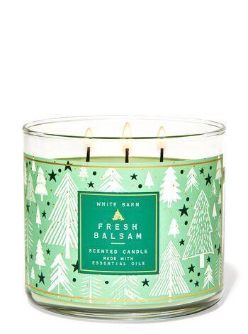 "<p><strong>Bath & Body Works</strong></p><p>bathandbodyworks.com</p><p><strong>$24.50</strong></p><p><a href=""https://www.bathandbodyworks.com/p/fresh-balsam-3-wick-candle-026182149.html"" rel=""nofollow noopener"" target=""_blank"" data-ylk=""slk:Shop Now"" class=""link rapid-noclick-resp"">Shop Now</a></p><p>Reader, I audibly gasped ""Oh!"" when the sweet smells took over my apartment. Are wedding scents a thing? Because this is what I want my wedding to smell like. </p>"