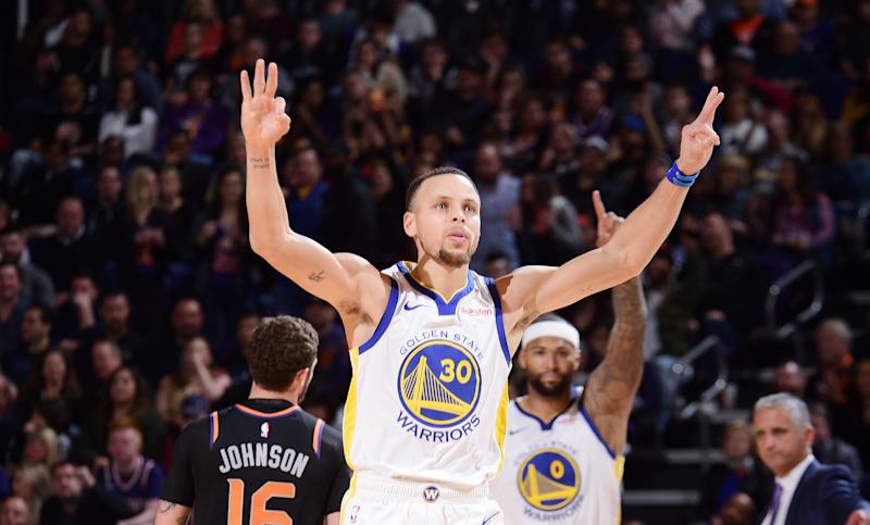 2d8dca1095ca Steph Curry assisted in the theft of a koi fish from a Japanese restaurant  in college. Now there s a sneaker commemorating that prank. (Getty Images)
