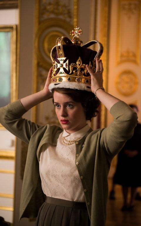 Claire Foy in The crown - Credit: Netflix