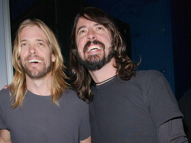 Foo Fighters' Taylor Hawkins received royal slap from Prince Harry