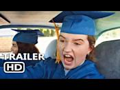 """<p>When the two of the smartest girls in the senior class—played by Beanie Feldstein and Kaitlyn Dever—realize that their rule-breaking, hard-partying classmates also got into great schools, they decide to let loose at a graduation party. <em>Booksmart </em>marked Olivia Wilde's directorial debut, and Lisa Kudrow, Will Forte, Jessica Williams, and Jason Sudeikis also make appearances. - TA</p><p><a href=""""https://www.youtube.com/watch?v=Uhd3lo_IWJc"""" rel=""""nofollow noopener"""" target=""""_blank"""" data-ylk=""""slk:See the original post on Youtube"""" class=""""link rapid-noclick-resp"""">See the original post on Youtube</a></p>"""
