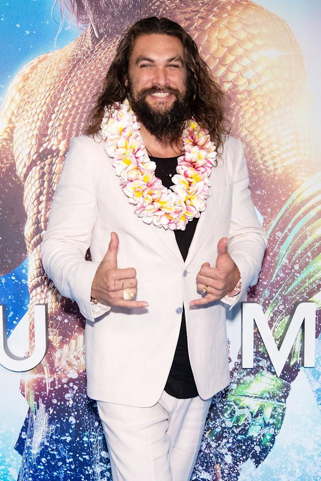 """In December 2018, <a href=""""https://abcnews.go.com/GMA/Culture/aquaman-star-jason-momoa-living-dream/story?id=59571240"""">the actor told<em>Good Morning America</em></a> he's """"living the dream"""" — and as of Aug. 1, he's doing it as a 40 year old."""