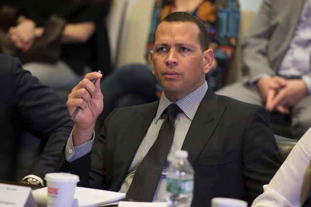 Alex Rodriguez shared his feelings about Robinson Cano's suspension. (Photo by Scott Roth/Invision/AP)