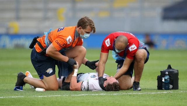 Donaldson was injured in Leeds' victory over Huddersfield