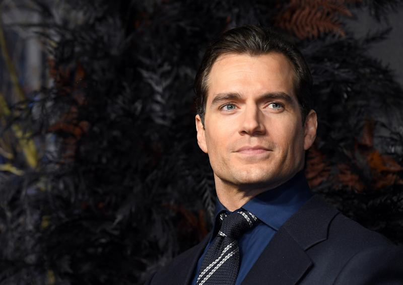 "Henry Cavill attends ""The Witcher"" World Premiere on December 16, 2019 in London. (Photo by Karwai Tang/WireImage)"