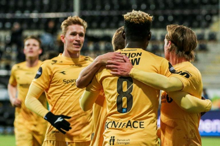 Bodo/Glimt, from north of the Arctic Circle, are set to win their first Norwegian title
