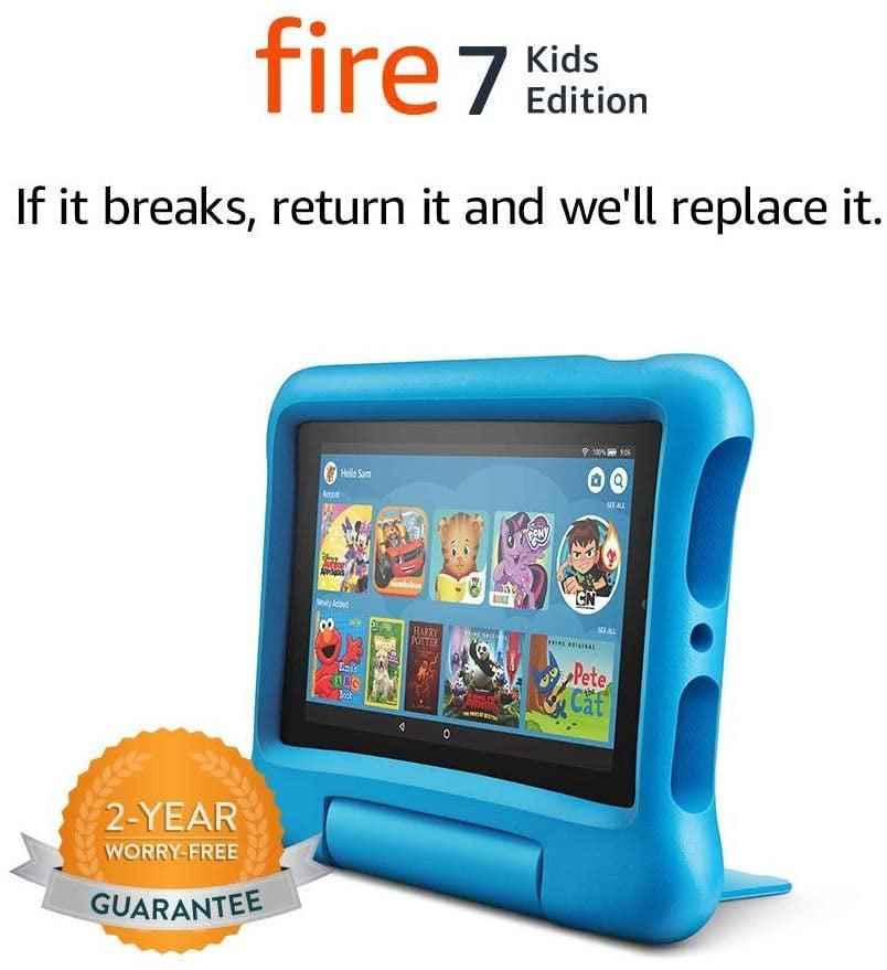 <p>The <span>Fire 7 Kids Edition Tablet</span> ($60) can be progammed to house your child's educational games and apps!</p>