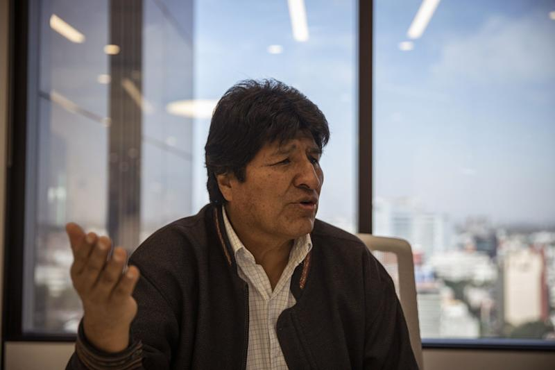 Bolivian Prosecutors Seek to Arrest Evo Morales for 'Terrorism'