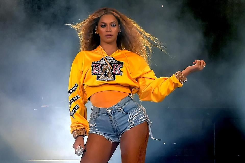<p>Beyoncé leads the way with nine Grammy nominations</p> (Getty Images)